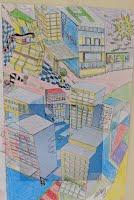 Autist tekende stad in detail na